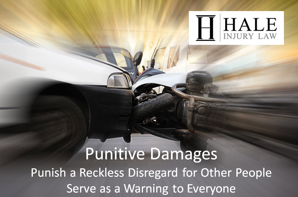 Punitive Damages Punish a Reckless Disregard for Other People Serve as a Warning to Everyone