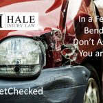 In a Fender Bender? Don't Assume You are OK. Get Checked
